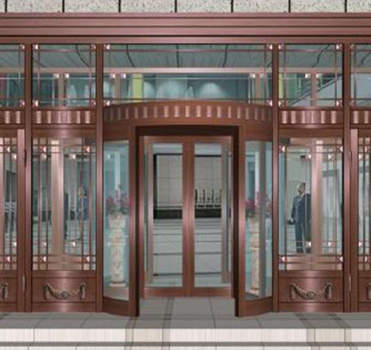 哈尔滨不锈钢大门与氟碳门的的定义!